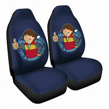 Buy Boy from Hawkins Car Seat Covers Nerdy Geeky Pop Culture Set of 2 Front Seat