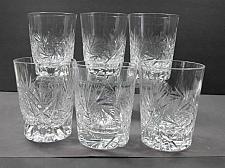 Buy 6 ABP Cut Glass tumblers