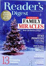 Buy Readers Digest Magazine January 2021 Issue For Cocker Spaniel Rescue Charity