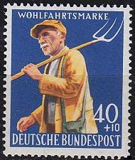 Buy GERMANY BUND [1958] MiNr 0300 ( **/mnh )