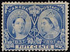 Buy Canada #60 Victoria Jubilee; Unused (2Stars) |CAN0060-01XDP