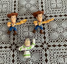 Buy Three 2019 McDonalds Happy Meal Toys Woody Buzz Lightyear For Dog Rescue Charity