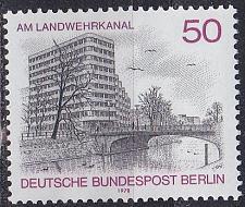 Buy GERMANY BERLIN [1978] MiNr 0579 ( **/mnh ) Bauwerke
