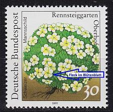 Buy GERMANY BUND [1991] MiNr 1505 F9 ( **/mnh ) [01] Plattenfehler