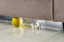 Buy BOWERBIRD Clear Toy Blockers for Furniture - Stop Things from Going Under Couch