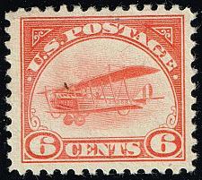 Buy US #C1 Curtiss Jenny; Unused (2Stars) |USAC001-02XVK