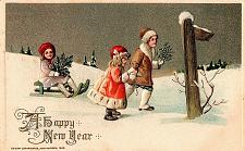 Buy Early 1900's Elegantly Embossed Historic Vintage Antique Topical Post Card #9