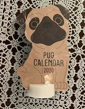 Buy Brand New Cute 2020 Pug Die Cut Desktop Calendar 4 Dog Rescue Charity Gift Item