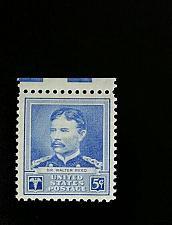 Buy 1940 5c Major Walter Reed, M.D., U.S. Army Scott 877 Mint F/VF NH