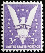 Buy 1941 3c Win the War, Eagle, V for Victory! Scott 905 Mint F/VF NH