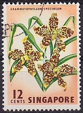 Buy SINGAPUR SINGAPORE [1962] MiNr 0060 ( O/used ) Blumen