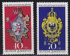 Buy GERMANY BUND [1973] MiNr 0764-65 ( **/mnh ) Wappen
