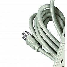 Buy Fellowes 6-Outlet Office/Home Power Strip, 15 Foot Cord - Wall Mountable 99026