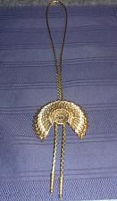 Buy Handmade Gold Tone Headdress Square Dance Bolo Tie For Dog Rescue Charity