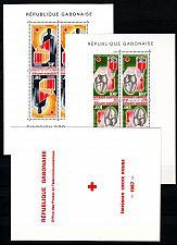 Buy GABUN GABON [1967] MiNr 0279-80 Block 6-7 ( **/mnh ) Rotes Kreuz