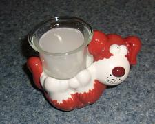 Buy Brand New Dog Themed Candle Holder For Cocker Spaniel Rescue Charity