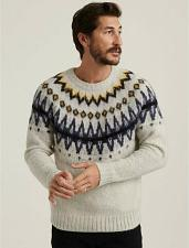 Buy Lucky Brand Fair Isle Men`s XXL Sweater New With Tags