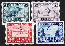 Buy ÖSTERREICH AUSTRIA [1933] MiNr 0551-54 ( O/used )