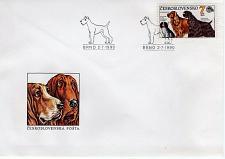 Buy CZECHOSLOVAKIA - 1990 Inter Canis Dog Show, Brno FDC7744
