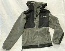 Buy The North Face Fleece Polartec Hooded Jacket Women Gray / Black Size XS