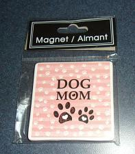 Buy Brand New Cute Ceramic Dog Mom Magnet For Cocker Spaniel Rescue Charity