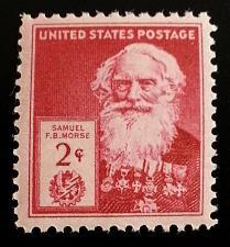 Buy 1940 2c Samuel F. B. Morse, American Painter Scott 890 Mint F/VF NH