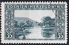 Buy ÖSTERREICH AUSTRIA [BosHerz] MiNr 0038 ( O/used )