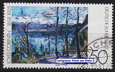 Buy GERMANY BUND [1978] MiNr 0986 F25 ( O/used ) [01] Gemälde Plattenfehler