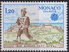 Buy MONACO [1979] MiNr 1375 ( **/mnh ) CEPT