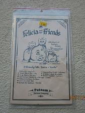 """Buy PUTNAM'S PATTERN COMPANY SEWING PATTERN """"Felicia & friends"""" Cats & Mice"""