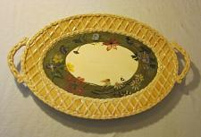 Buy TRACY PORTER Alouette COLLECTION SERVING DISH TRAY Oval PLATTER