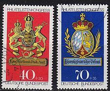 Buy GERMANY BUND [1973] MiNr 0766-67 ( O/used ) Wappen