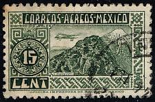 Buy Mexico #C67 Plane over Orizaba Volcano; Used (2Stars) |MEXC067-02XRS