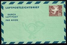 Buy Germany-Berlin Mi LF5 Aerogramme; Unused (MCV 45 Euro) (4Stars) |DEUMiBWLF5-01XDP