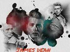 Buy JAMES DEAN 3 FT X 5 FT FABRIC BANNER
