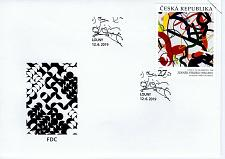 Buy CZECH REPUBLIC - 2019 Art on Stamps FDC7769
