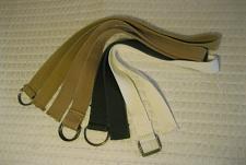 Buy Belt Lot Of 4 Distressed Frayed D Ring Triple Grommet Size 30-32 Belts