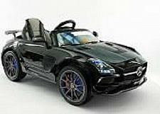 Buy 2021 12V Battery Powered Mercedes SLS AMG with Led Wheels LCD Screen MP4 Ride On