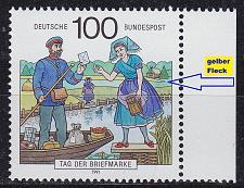 Buy GERMANY BUND [1991] MiNr 1570 F10,I ( **/mnh ) CEPT Plattenfehler