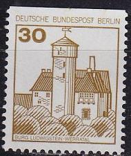 Buy GERMANY BERLIN [1977] MiNr 0534 C ( **/mnh ) Bauwerke