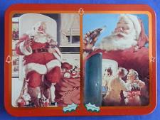 Buy Coca-Cola Santa Claus Christmas Playing Cards 1995 Limited Edition Double Deck