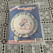 Buy Brand New Suzanne McNeill Candlewicking Stitchery Kit 5062 Bunny Rabbit Design