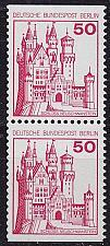 Buy GERMANY BERLIN [1977] MiNr 0536 CD ( **/mnh ) Burgen Schlösser