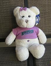 "Buy 13"" Arizona Diamondbacks White Jeweled Bear Baseball Plush MLB"