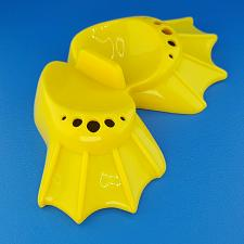 Buy Mr. Potato Head Yellow Swimming Fins Feet Replacement Body Parts Playskool 2009