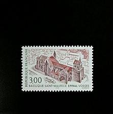 Buy 1997 France Saint-Maurice Basilica, Epinal Scott 2608 Mint F/VF NH