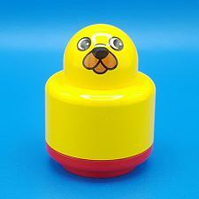 Buy Lego Duplo Primo Round Baby Rattle 1x1 Animal Face Pattern Red Base Brick Block