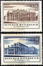 Buy ÖSTERREICH AUSTRIA [1955] MiNr 1020-21 ( **/mnh ) Architektur