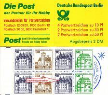 Buy GERMANY BERLIN [Markenheft] MiNr 11 a VII ( **/mnh ) Plattenfehler mit 532 VII