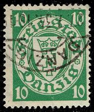 Buy Danzig #173a Coat of Arms; Used (3Stars) |DAN173a-02XRS